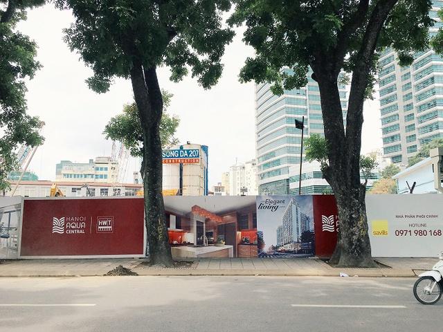 Tổ hợp chung cư Hanoi Aqua Central là một trong những dự án hiếm hoi tại khu vực nội đô Hà nội được ra mắt trong năm 2016