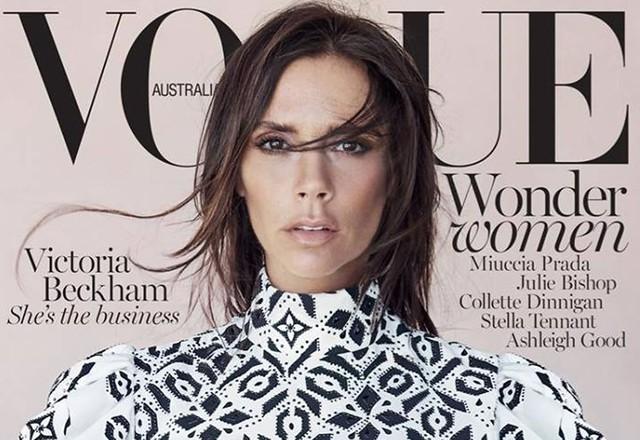 Nhà thiết kế nổi tiếng Marc Jacobs còn chọn cô làm gương mặt của bộ sưu tập thời trang xuân-hè năm 2008. Victoria rất nhiều lần góp mặt trên tờ báo thời trang nổi tiếng Vogue.