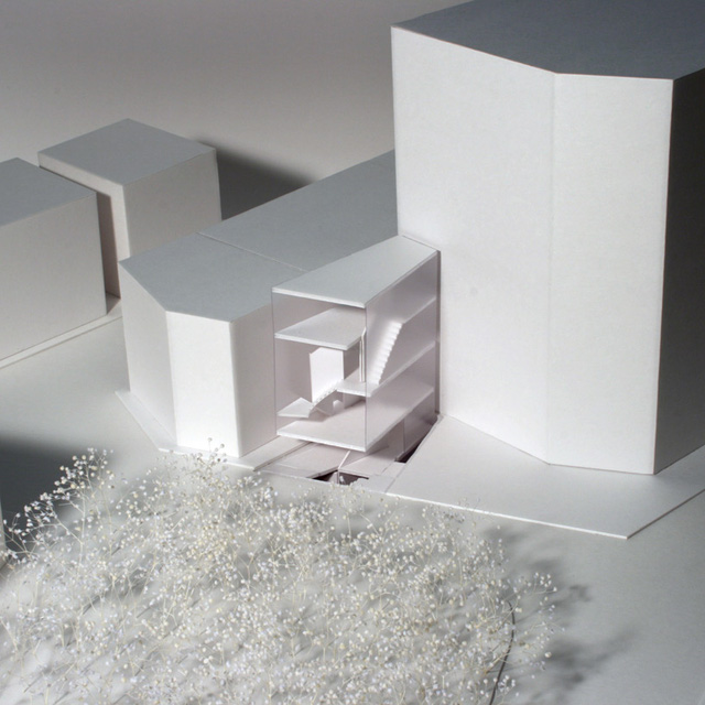 Mô hình không gian của căn nhà.