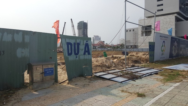 Khu đất trước đây của HUD đang được chủ đầu tư mới khởi công dự án 47 tầng...
