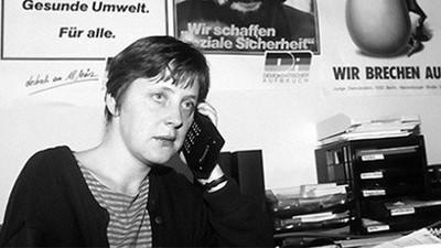 3. Angela Merkel, nữ thủ tướng đầu tiên của Đức