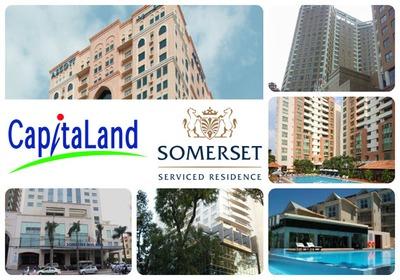 CapitaLand với các dự án Bất động sản, khách sạn lớn