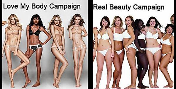 Victoria's Secret vs Dove: Hình ảnh đối lập trong 2 chiến dịch quảng cáo