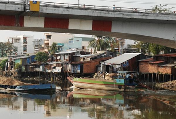 Cuộc sống trong khu 'ổ chuột' ở Sài Gòn