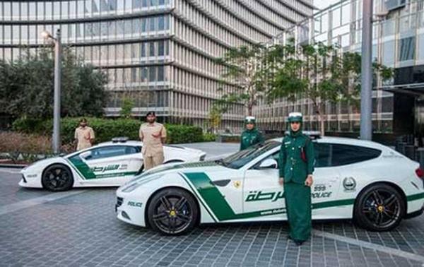 Đội hình xe công 'vô đối' của Dubai