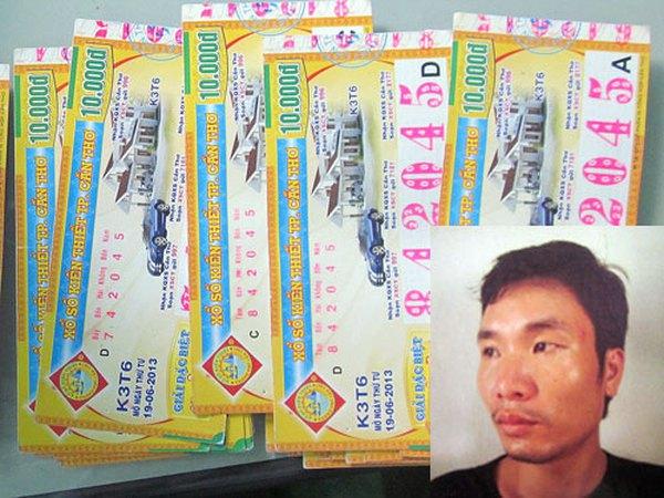 Tóm gọn 'siêu lừa' làm giả vé số trúng thưởng, chiếm đoạt gần 1 tỷ đồng