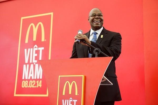 CEO McDonald's: McDonald's không hề đến chậm tại Việt Nam
