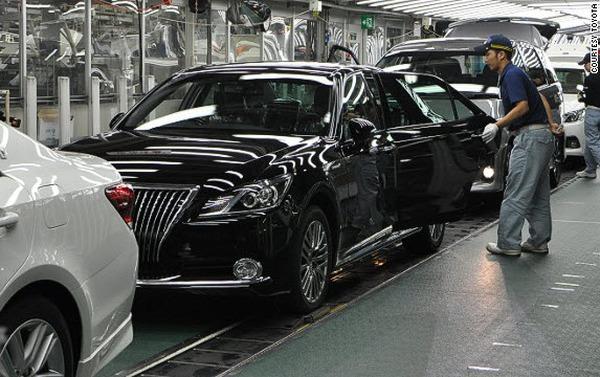 [Inside Factory] Bên trong nhà máy sản xuất ô tô của Toyota