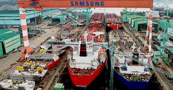 Samsung rục rịch thâu tóm một nửa số cổ phần công ty con của Vinashin