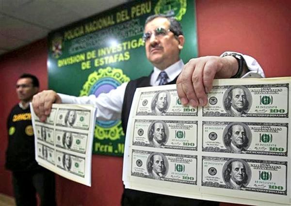 Vì sao Peru trở thành 'cường quốc tiền giả'?