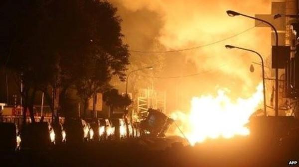 Nổ nhà máy ở Trung Quốc, gần 200 người thương vong