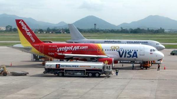 Máy bay Vietjet Air vừa đi đã quay lại sân bay