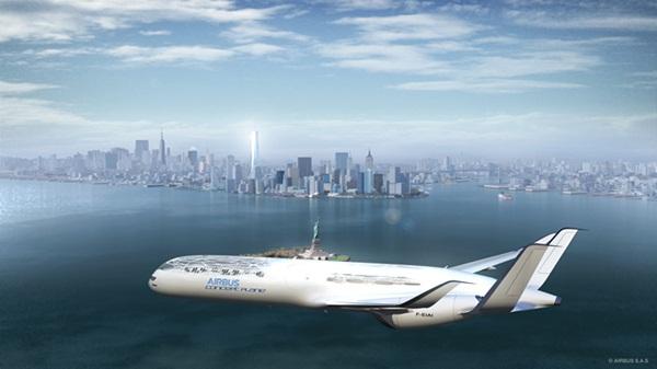 Airbus ra mắt thiết kế siêu máy bay xuất hiện trong năm 2050