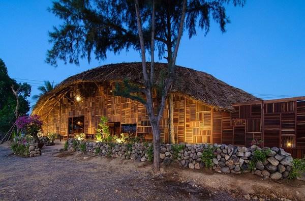 Cận cảnh nhà gỗ Việt Nam lọt top công trình kiến trúc đẹp nhất thế giới