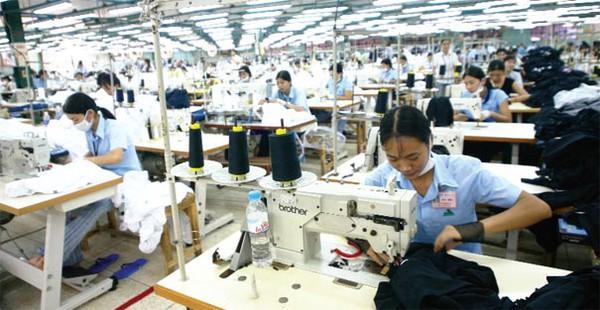 Bảng xếp hạng top các doanh nghiệp may mặc lớn nhất năm 2012