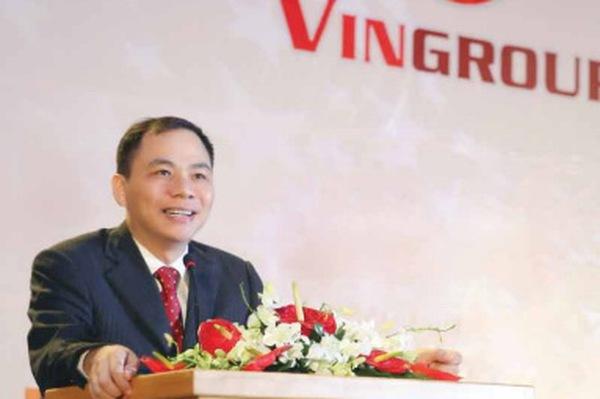 Vợ chồng ông Phạm Nhật Vượng trực tiếp nắm giữ số cổ phiếu trị giá 1 tỷ USD