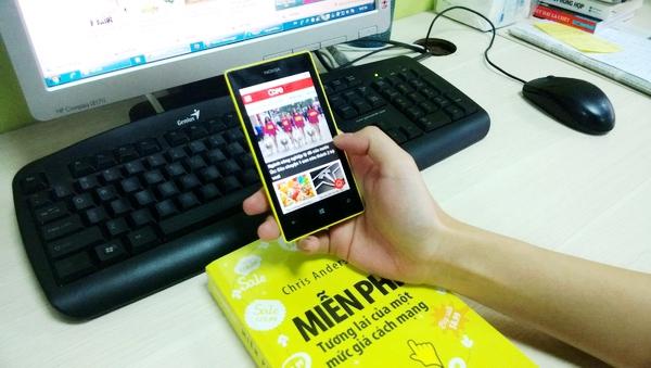 [Hot] Sau iOS và Android, ứng dụng CafeBiz 'chính hãng' đã có trên Windowsphone