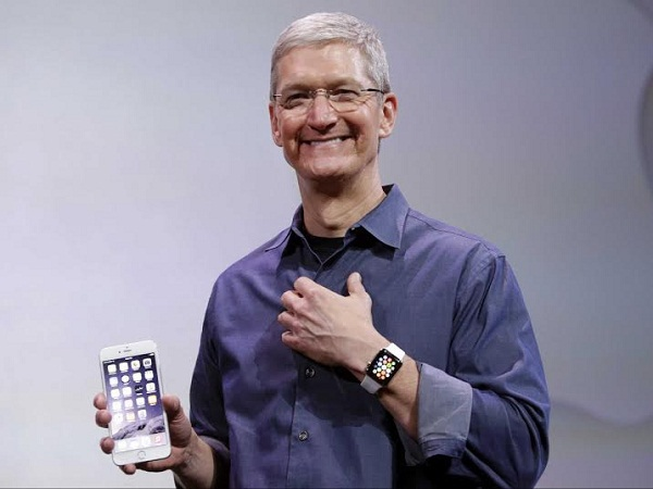 Cổ phiếu Apple giảm sau khi iPhone 6, Apple Watch ra mắt
