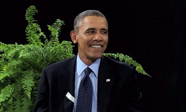 Chuyện Obama đi làm trò hề