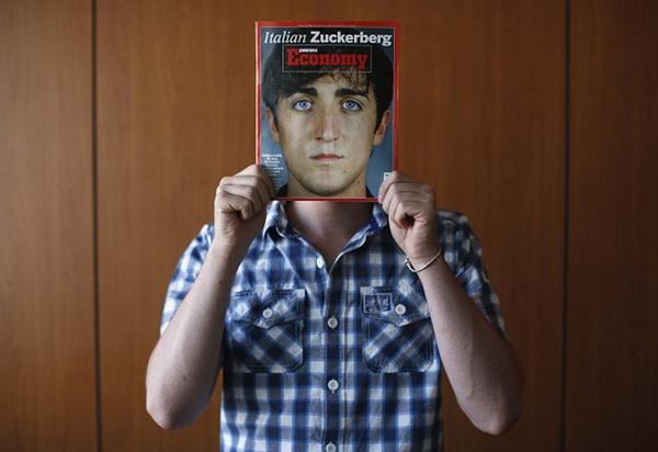 Chàng trai 22 tuổi được xưng tụng là 'Zuckerberg của nước Ý'