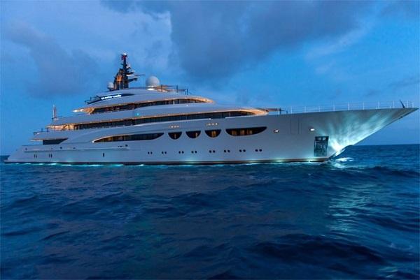 Chiêm ngưỡng siêu du thuyền có giá cho thuê 1,3 triệu USD/tuần