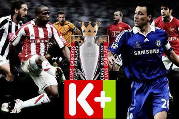 K+ tuyên bố độc quyền giải ngoại hạng Anh trong ba mùa
