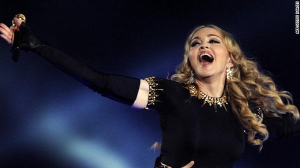 Madonna kiếm tiền giỏi nhất làng giải trí Mỹ