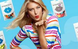 'Nữ hoàng' quần vợt Maria Sharapova đi bán kẹo