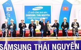 """Samsung vào Thái Nguyên: Từ """"dự án"""" lên """"tổ hợp"""""""