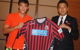 Cầu thủ Công Vinh đến Nhật Bản không phải để quảng cáo bia