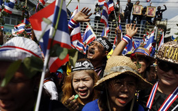 Người biểu tình Thái Lan chiếm trụ sở Bộ Tài chính