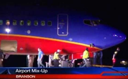 Ly kỳ máy bay hạ cánh nhầm sân bay
