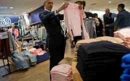 Tổng thống Obama mua áo 'Made in Vietnam' cho vợ