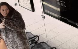 Quảng cáo mới của Pepsi dọa khách chờ xe buýt ở London sợ chết khiếp