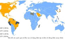 Tại sao có sự khác nhau trong việc sử dụng điện áp 110V và 220V giữa các quốc gia?
