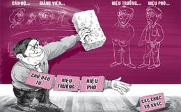 Chuyện khó tin ở trường đại học tư: Thầy cô đấu nhau, sinh viên lãnh đủ