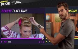 Axe Hair và chiến dịch 'Đẹp trai sau vài nháy mắt'
