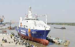 Cận cảnh tàu tuần tra lớn nhất của cảnh sát biển Việt Nam vừa ra giàn khoan TQ