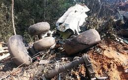 [Ảnh] Hiện trường vụ rơi máy bay quân sự tại Lào