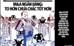 Sáp nhập ngân hàng 'kiểu Việt Nam'