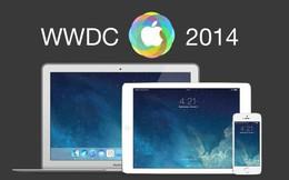 Sự kiện WWDC 2014: Apple ra mắt iOS 8 và OS X 10.10