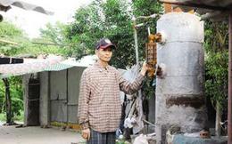 Nông dân Thái Bình chế tạo lò đốt rác thành 'nhà máy điện', cạnh tranh EVN