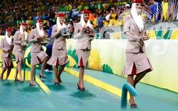 Dàn mỹ nhân đứng trao huy chương World Cup 2014 có 'giá' 100 triệu USD