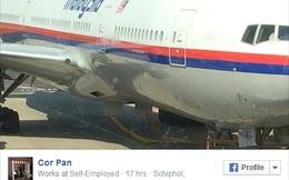 Hành khách MH17 trêu đùa về việc máy bay mất tích trước khi cất cánh