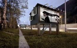 Độc đáo: Biến biển quảng cáo ngoài trời thành nhà ở cho người vô gia cư