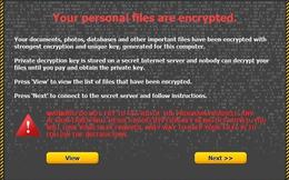 Phát hiện biến thể mới của phần mềm 'tống tiền' CryptoLocker