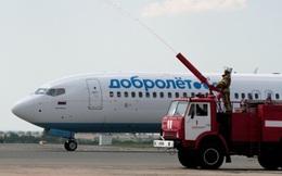 Hãng hàng không đầu tiên của Nga tạm ngừng bay do lệnh trừng phạt