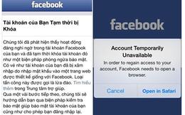 Facebook lên tiếng vụ bắt đổi mật khẩu hàng loạt