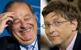 Bill Gates sắp soán ngôi giàu nhất của Carlos Slim