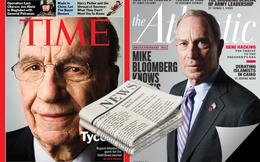 Ông trùm truyền thông Bloomberg và Murdoch giàu có và quyền lực như thế nào?